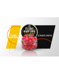 Бойлы плавающие FLURO POP UPS ULTRABAITS (клюква) 10мм,30гр