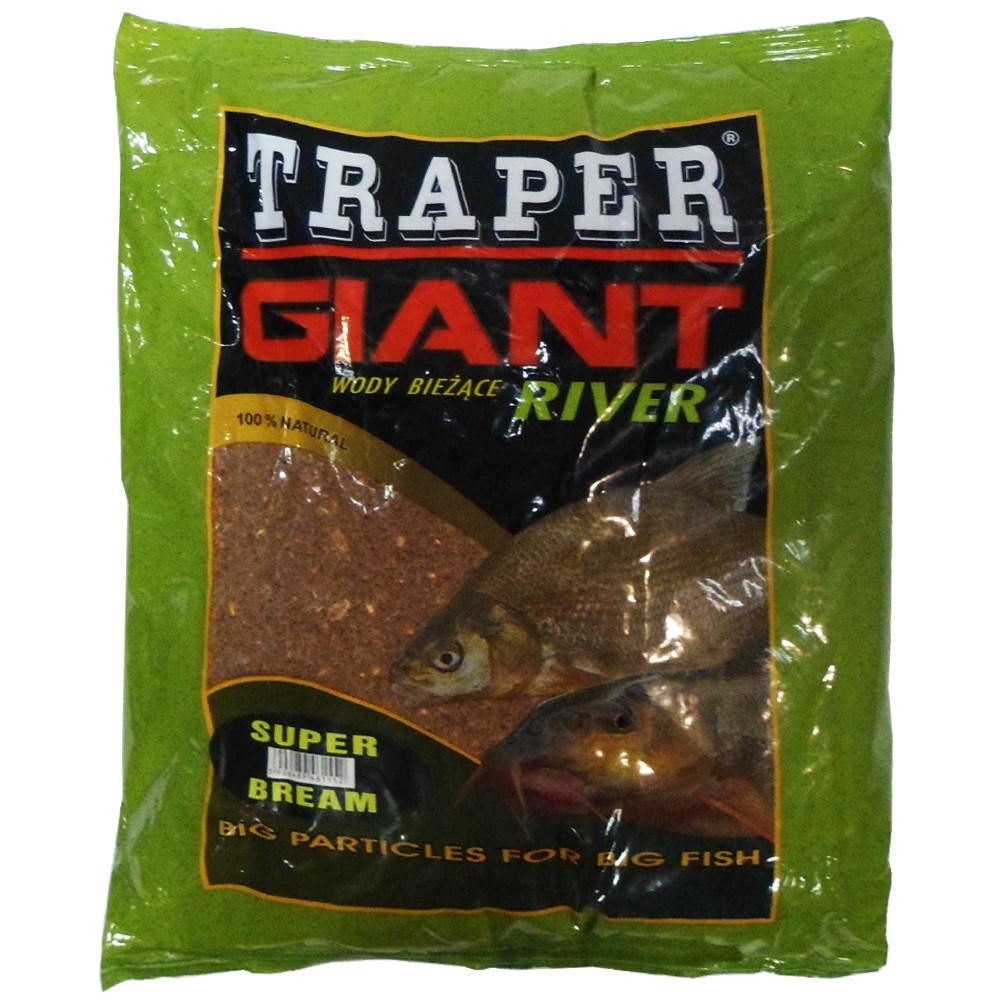 Прикормка TRAPER GIANT Super Bream (Супер Лещ) 2,5 кг.