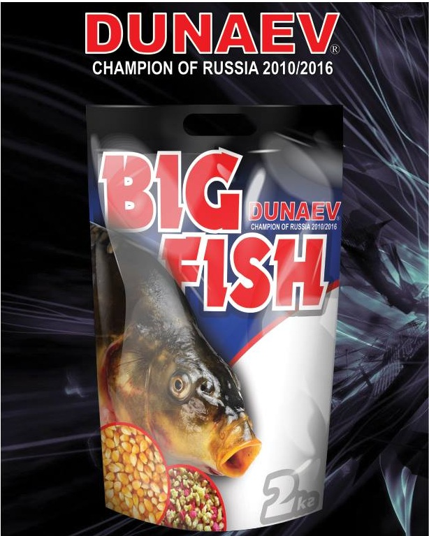 Прикормка DUNAEV BIG FISH (Большая рыба) 2 кг.