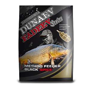 Прикормка DUNAEV-FADEEV Method Feeder Black Spice 1 кг.